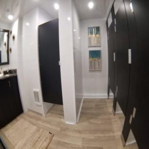 Luxury Restroom Trailer Clovis
